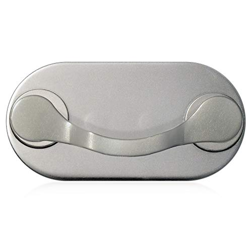 MAG-B magnetischer Brillenhalter (Edelstahl Poliert