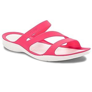 Crocs Damen Swiftwater Sandalen zum Reinschlüpfen