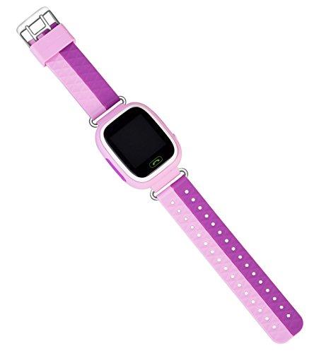 VIDIMENSIO GPS Telefon Uhr Kleiner Affe - pink ohne Abhörfunktion, für Kinder, SOS und Telefonfunktion Abbildung 3