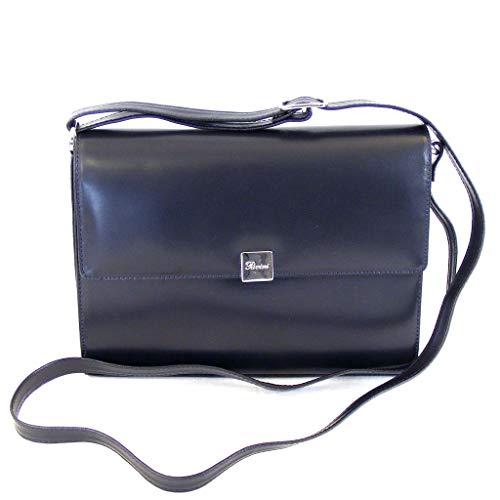 Pavini Roma blau Umhängetasche Damen Tasche Echt-Leder dunkelblau 14794