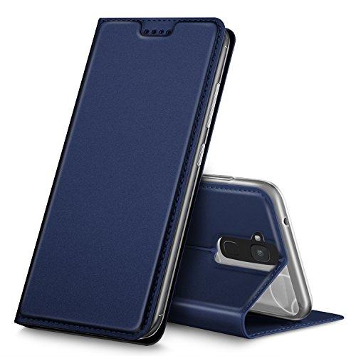 BQ Aquaris VS Hülle, GeeMai Premium Flip Case Tasche Cover Hüllen mit Magnetverschluss [Standfunktion] Schutzhülle Handyhülle für BQ Aquaris VS Smartphone, Blau