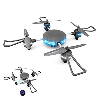 YMXLJJ Wifi FPV Drone And HD Camera Height Keep RC Quadcopter Cool Light One-Button Re