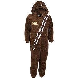 -:- Star Wars -:- Disney -:- Pijama marrón Chewbacca 4-14 Años