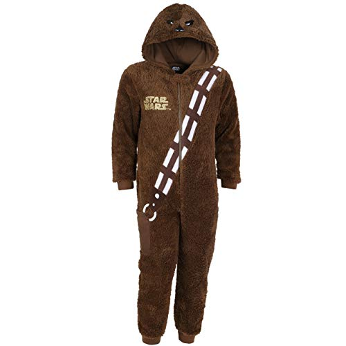 -:- star wars -:- disney -:- pigiama marrone chewbacca 12-13 anni 158 cm