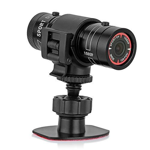 Mengshen Full HD 1080 P Mini Sport DV Kamera Fahrrad Motorrad Helm Action DVR Video Cam Perfekt für Outdoor-Sportarten MS-F9 (Mini-sport-kamera)