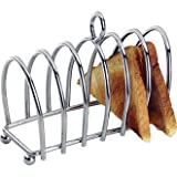6 Slice Toast Rack (Chrome - Heavy Design) - great for breakfast presentation!