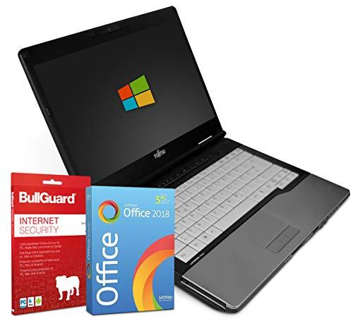 "Fujitsu LifeBook S782 14\"" Laptop Notebook Intel Core i7-3540M 2X 3 bis 3,7GHz 8GB DDR3 500GB HDD - Windows 7 Professional 64Bit + BullGuard Internet Security + SoftMaker Office 2018 - Standard"