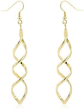 Isady – Cassandra Gold - Damen Ohrringe – Ohrhänger – 585 Gelbgold platiert
