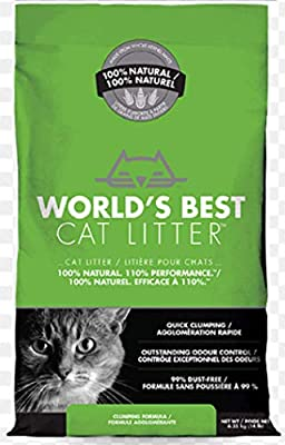 World's Best CAT LITTER 3.18KG - ECO FRIENDLY - FLUSH-ABLE ODOUR CONTROL from LEEWAY