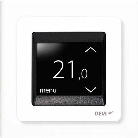 Devi UP-Uhrenthermostat devireg Touch m.Rahm 16A 230V Raumthermostat/Uhrenthermostat 5703466215135
