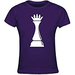 Shirtcity Camiseta de Mujer Chess Queen by