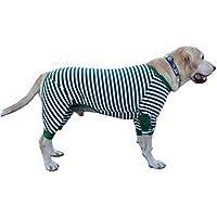 BT Bear - Pijama para Perro de algodón Suave, Transpirable, Flexible, con Cremallera