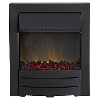 Adam Colorado Electric Inset Fire, 2000 W, Black