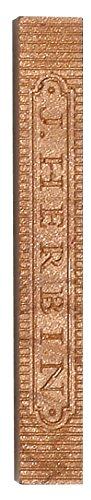 J.Herbin 33106T Siegelwachs Blisterpack, mit 4 stangen weich, kupfer