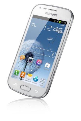 "Samsung Galaxy Trend GT-S7560 Smartphone Ecran tactile 4"" (10,2 cm) Android 4.0.4 Ice Cream Sandwich Bluetooth Wi-Fi Blanc - 7"