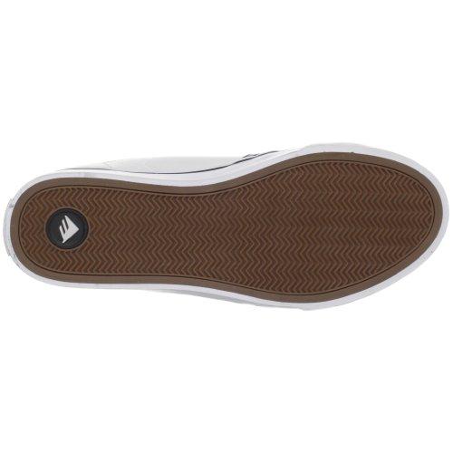 Emerica LEO, Sneaker unisex adulto bianco (Weiss/White)