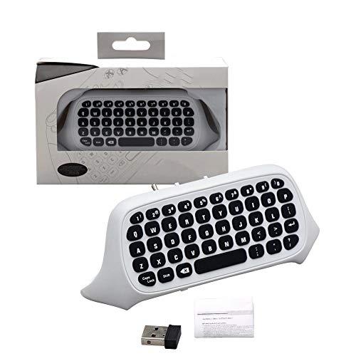 iBaste_Top Kabellose Bluetooth-Tastatur für Xbox One S 2.4 G Gamepad für Xbox One Slim Gaming-Tastatur, kabelloses Zubehör für Spiele Videotastatur -