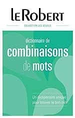Dictionnaire des combinaisons de mots - Grand format