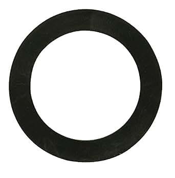 Joint de bonde caoutchouc Valentin - Evier inox ou baignoire de diamètre 50 mm - Diamètre extérieur 73 mm - Intérieur 52,5 mm