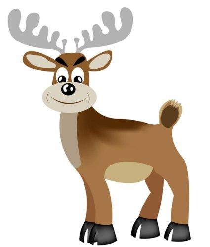 Aufkleber lustiger Elch Elk moose Sticker fürs Auto Motorrad Handy Laptop outdoor / indoor wasserfest