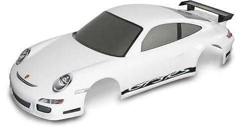 Carson 500800059 - 1:10 Karosserie Porsche 911 GT3 Dekor, weiß