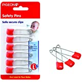Safety Pin(L) 6PCS/Card (Color May Vary)