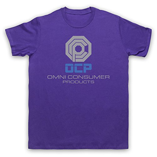 Inspiriert durch Robocop OCP Omni Consumer Products Unofficial Herren T-Shirt Violett