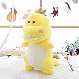 Morbuy Plüsch Spielzeug Stofftier Spielzeug, 40cm Mr. Dinosaurier Spielzeug Doll Lovely Soft Toy Kids Gift (Gelb)