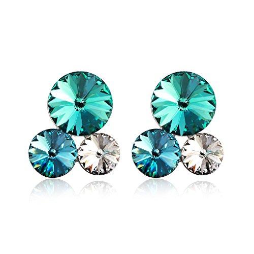 Swarovski Elements Orecchini in cristallo diamante della orecchini