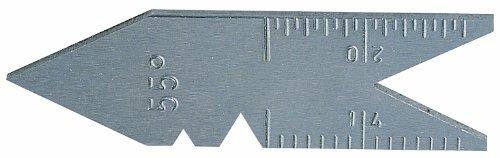 Metrica Gewindestahllehre - 60°, 35011