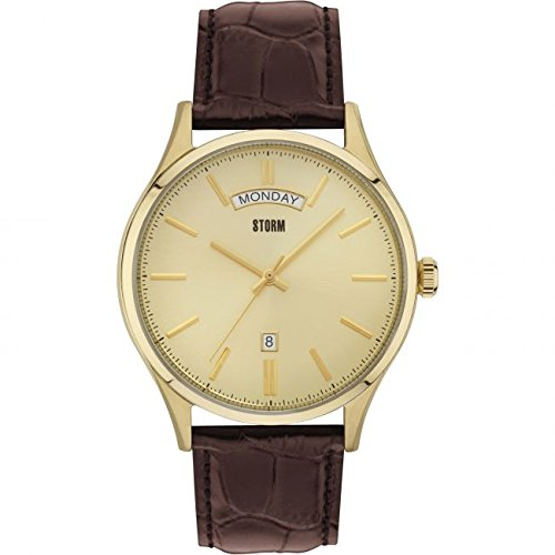 Storm London Montre Homme Dudley or cloches/GD