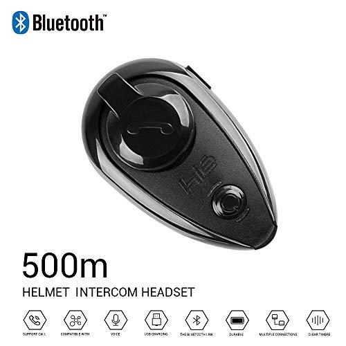 Stereo-intercom-panel (LSY Bluetooth Motorrad Helm Headset Intercom Interphone Wireless Intercom wasserdichtmotorrades Motorrad-Kommunikationssystem mit Lärmschutz)