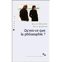 Qu'est-ce que la philosophie? (Reprise) (French Edition)
