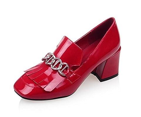 GZD?Femmes Mesdames Chaussures à talons hauts Chaussures de courte taille Plate-forme Stiletto Prom Wedding Party , 38