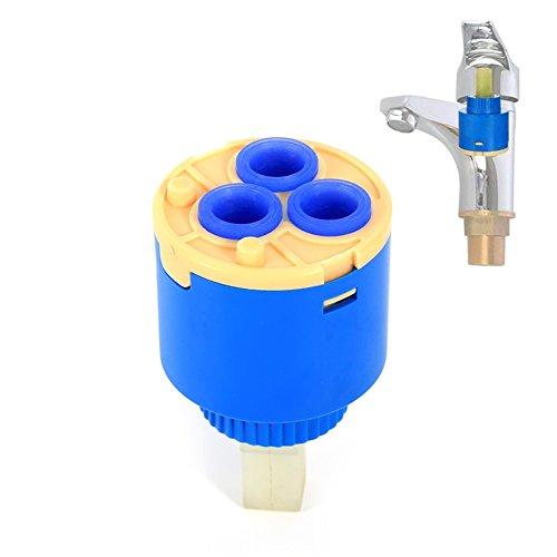 35 / 40mm Keramik Cartridge Wasserhahn Ersatz Wasser Mischbatterie Innensteuerung Wasserhahn Ventil(35mm)