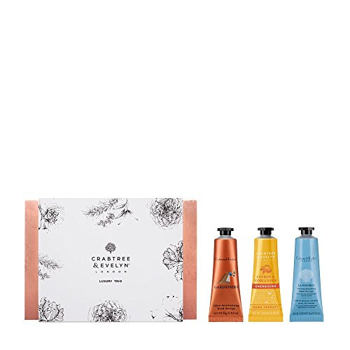 Crabtree & Evelyn Luxury Trio Hand Therapy Sampler