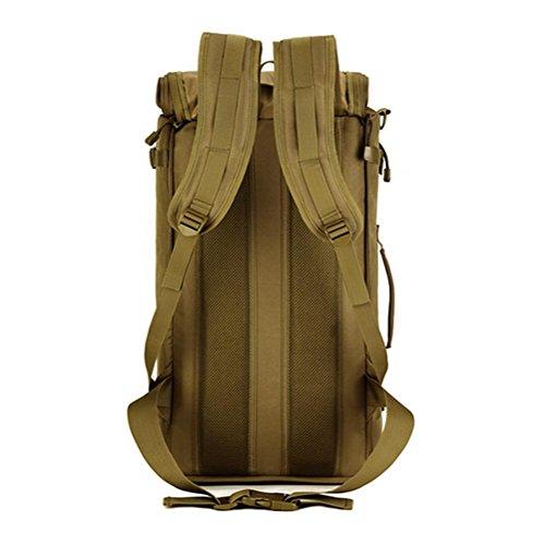 Rucksack Multifunktions-900D Camouflage Stil Tasche Schultern wasserdichte Taktik Freizeit Outdoor Rucksack black