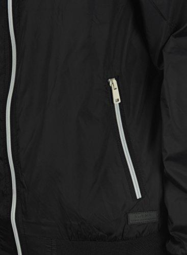 BLEND Brad Herren Übergangsjacke Bomberjacke Black (70155)