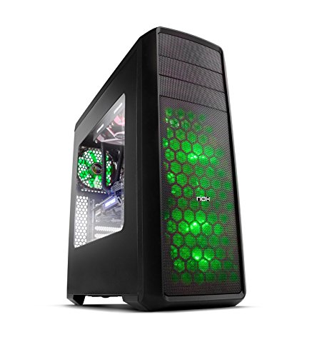 NOX Semitorre Coolbay ZX USB 3.0 LED Verde
