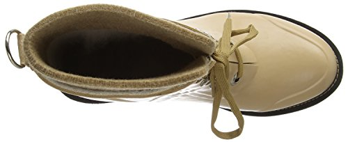 Ilse Jacobsen RUB62, Stivali in gomma a gamba corta, imbottitura leggera donna Marrone (Braun (Camel (210)))