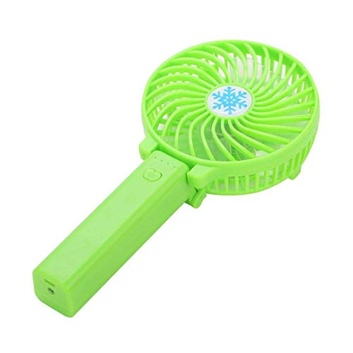 baoyueshangmao USB-Mini-Kleinlüfter tragbarer Handladelüfter mit Licht grün 20 * 9 grün 20 * 9 -