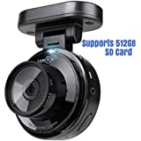 512 GB SD Card Supported Car Video Recorder Dash Camera DVR Lukas Speed Meter Full HD Front With Night Vision, Parking Mode,WDR, Motion Detect,Loop Recording