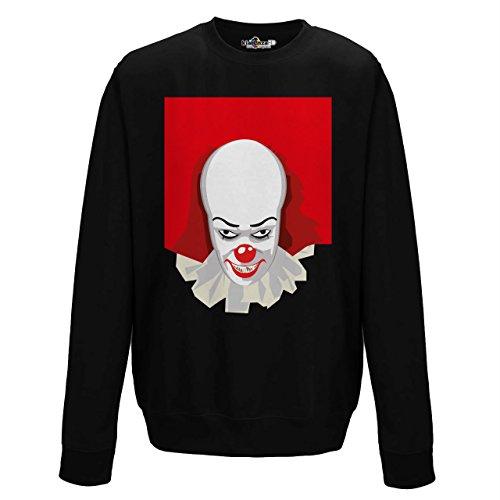 Parodie Horror Cult Cinema IT Clown Mörder 2kiarenzafd, Jet Black (Die Scary Clown Film)