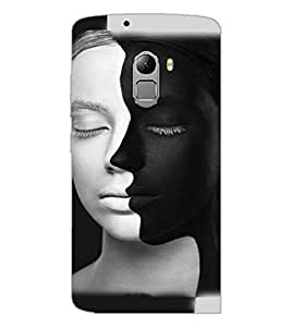 PrintDhaba Faces D-4814 Back Case Cover for LENOVO K4 NOTE A7010a48 (Multi-Coloured)