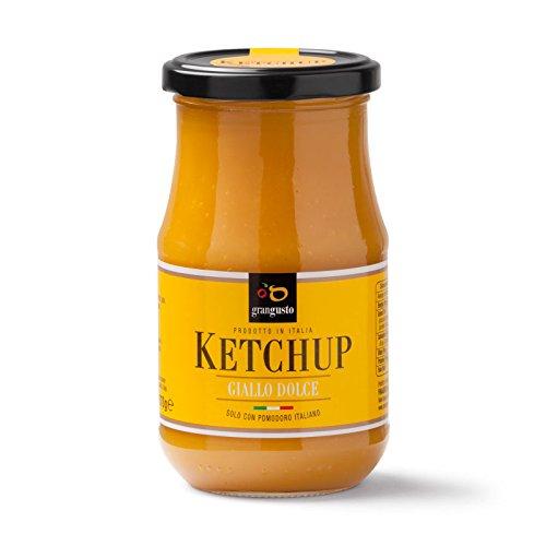 Ketchup Italiano Giallo 370g ''grangusto'' g confezione da 6