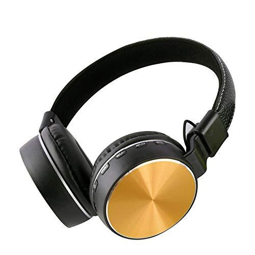 Aktive Rauschunterdrückung Bluetooth-Headset [FM-Radiomodus, TF-Kartenmodus, Kabelmodus] Protein-Gehörschutz Hi-Fi-Subwoofer Drahtloser Kopfhörer Sport-Headset - für Mobilgeräte / Android / PC / iPad Active Noise Reduction Plug