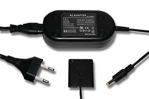 Chargeur avec adaptateur secteur pour appareil photo SONY CYBERSHOT DSC-H3 DSC-H7 DSC-H9 DSC-H20 DSC-H50 DSC-H55 etc. remplace AC-LS5, AC-LS5DK, DK-1G