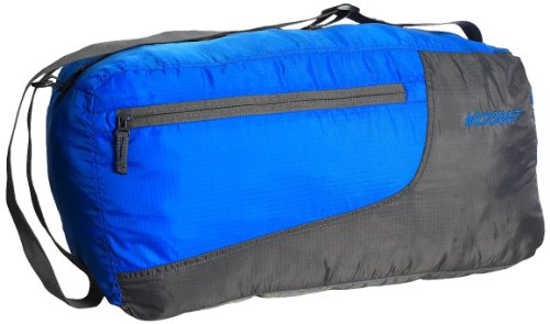Wildcraft Pac n Go 49.5 cms Blue and Grey Packalble Travel Duffle (8903338012528)  available at amazon for Rs.845
