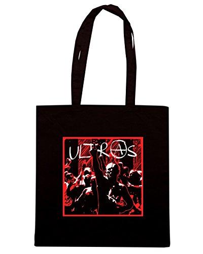 T-Shirtshock - Borsa Shopping TUM0216 ultras hooligans Nero