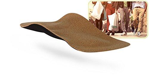 myVALE myVALE Anytime Velon 3/4 Comfort plus maßgefertigte Komforteinlage Einlegesohle nach dem eigenen Fußabdruck